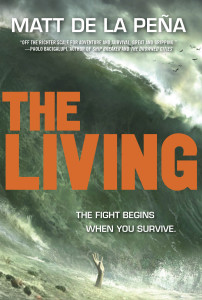 The Living Book Cover