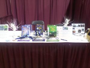 Our exhibit table.